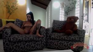 Evelyn Buarque pelada no chat ao vivo da putaria