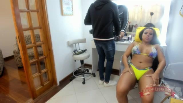 Maquiagem da atriz pornô Pamela Santos