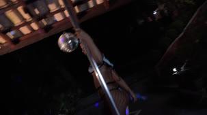 Pornô da Amaya Takayo dando um show no pole dance