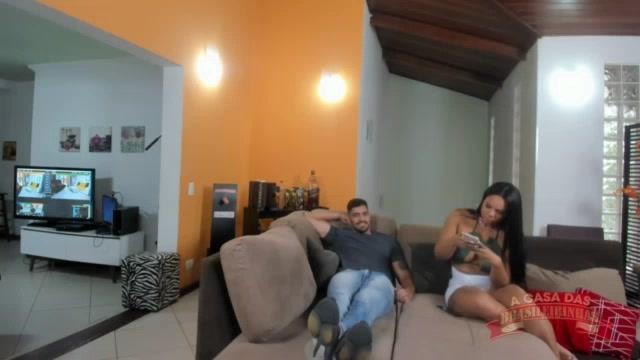 Putaria no chat com a Pamela Santos e Guedes