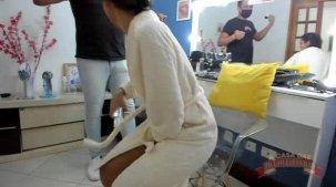 Na maquiagem, Julia Mattos virou quase uma Kardashian