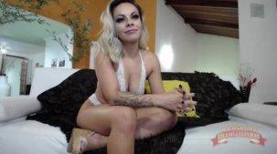 Melissa Pitanga loiraça no chat sexo ao vivo