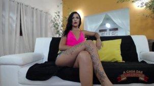 Julia Mattos nua no chat de sexo ao vivo, assista!