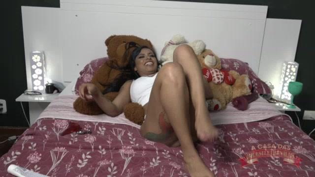 Na aula de sexo anal a gostosa da Jéssica deu um show
