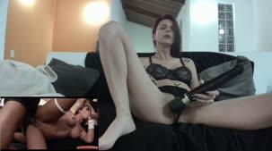 Pernocas, ninfetinha assistindo ao filme pornô
