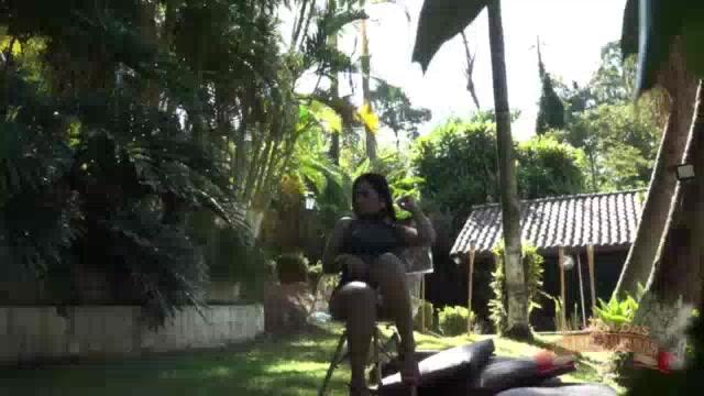 Ensaio ao ar livre da Grazy Moreno pelada