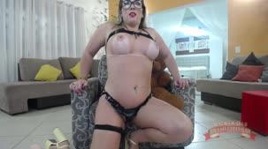 Emanuelly Weber gostosa nua de coelhinha no chat de sexo