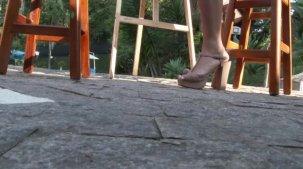 Julia Mattos vídeo da gostosa se pintando nua