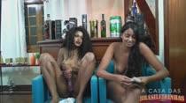Irmãs Blu | Bate papo com internautas | A Casa das Brasileirinhas
