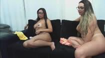 Alessandra Marques e Suzie Slut fazem o primeiro chat pornô da semana