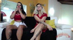 Melissa Pitanga e Suellen Victória gostosas no chat
