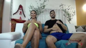 Julia Mattos fudendo com o Guedes no chat de sexo