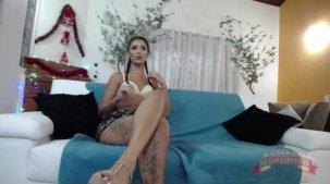 Julia Mattos nua no chat da putaria do reality