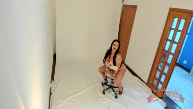Ensaio sensual da Angel Lima na Casa das Brasileirinhas