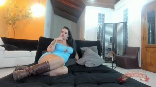 Chat com a rabuda Angel Lima ao vivo