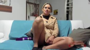 Atriz pornô Luna Oliveira falando sobre a sua cena de DP vaginal