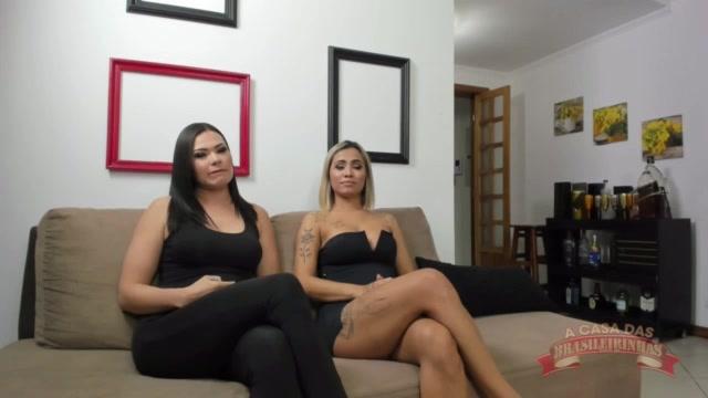Rolou live no instagram com a novata Izabela Pimenta e Marcella Branquinha