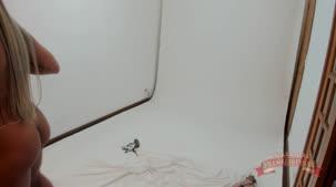 Nicole Araujo nua, ensaio sensual na Casa das Brasileirinhas.