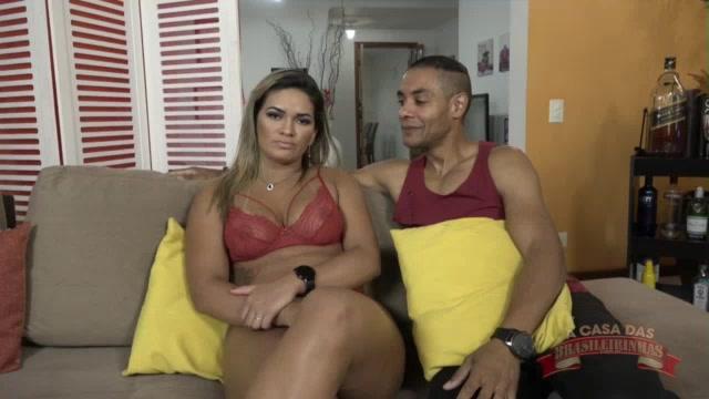 Luna Oliveira gozando no sexo oral do Mauro