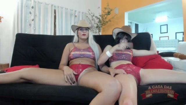 Chat de sexo ao vivo com as tesudas Katharine Madrid e Raquel Coelho