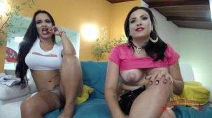 Cibele Pacheco e Suellen Victória no chat