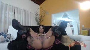 Lorena Vasconcellos pelada em mais um chat pornô