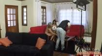 Juliana Ramos recebe a lésbica Melissa Pitanga para sacanagem