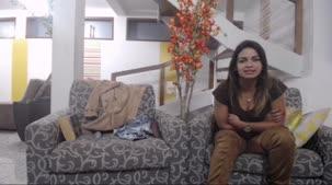Luna Oliveira conversou com os assinantes da Casa