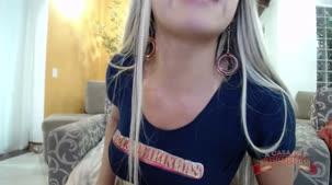 Vídeo Nicole Araújo peladinha no chat de sexo ao vivo