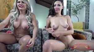 Nicole Araújo e Carol Fênix no chat de sexo e da putaria
