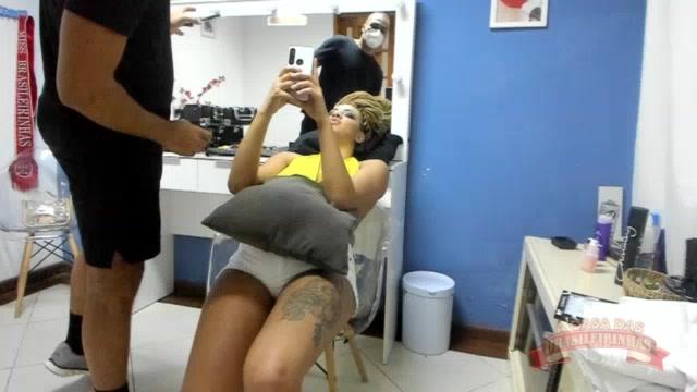 Vem conferir os detalhes da preparação da maquiagem da Gih Rocha