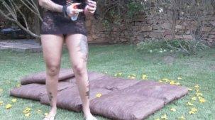 Elisa Sanches anal da gostosa durante a massagem erótica