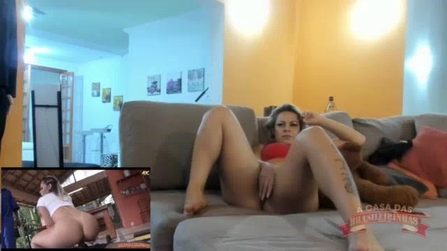 A Melissa Pitanga assistiu filme pornô e ficou peladinha