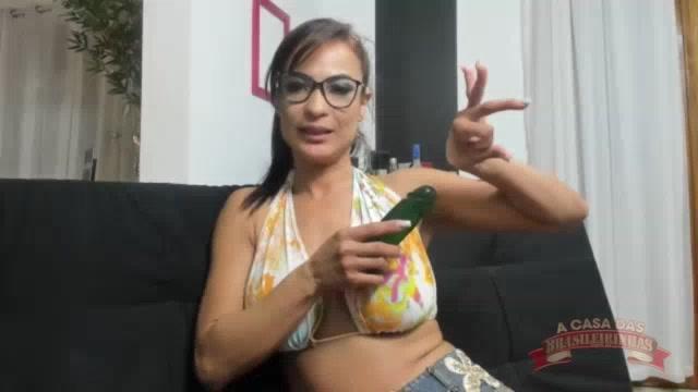 Aula de sexo anal com a Belinha Baracho