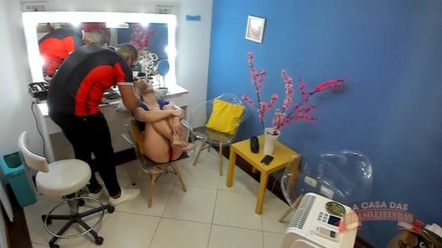 Maquiagem: confira o camarim pornô com Melody Antunes