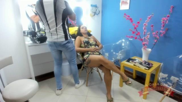 Maquiagem da diva Pamela Santos para a gravação