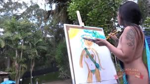 Oriental Vip a japa da Brasileirinhas na pintura erótica