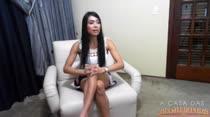 Rebeca Rios faz o ultimo chat na CASA DAS BRASILEIRINHAS