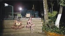 Loiras gostosas rebolam em show erótico das Brasileirinhas