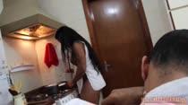 Veja Ana Júlia fazendo tapioca no CUzinha Master