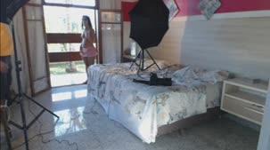 Rafaela Nakamura posou nua na Casa das Brasileirinhas