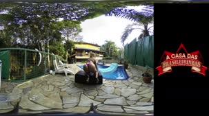 Angel Lima rebolando em 360º AO VIVO