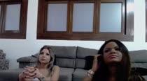 Chat de sexo com as gostosas Nina Lins e Carol Lisboa