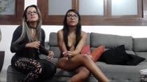 Mais um chat de sexo com Marcella e Nayara