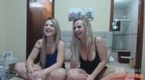 Milena Santos e Flávia Oliveira conversam no chat de sexo