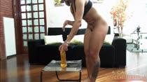 Buceta Raspada Melissa | Cadeira Sensual | A Casa das Brasileirinhas
