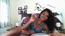 Morena Safada Bella Blue |Chat com Assinantes| A Casa das Brasileirinhas