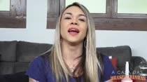 Fernandinha Fernandez gravou um recado de despida