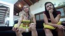 Em mais um chat, Fernandinha e Dani conversaram e se exibiram