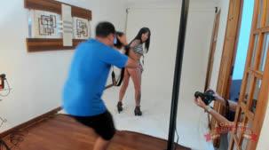 Ensaio sensual da nova modelo da casa Melissa Lisboa